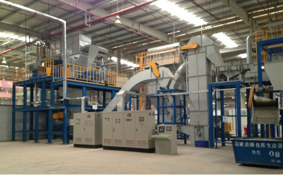 Waste electric appliance recycling machine