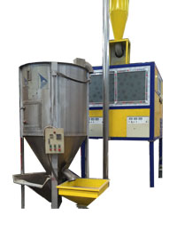 Mixed plastics separation machine