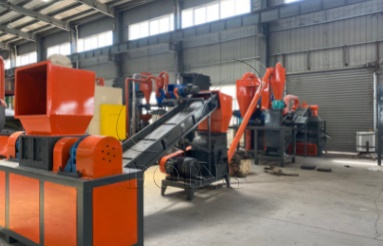 Large-Scale Radiator Recycling Machine