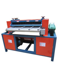 Stripping Type Radiator Separator Machine