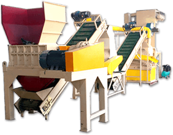 radiator recycling separator machine