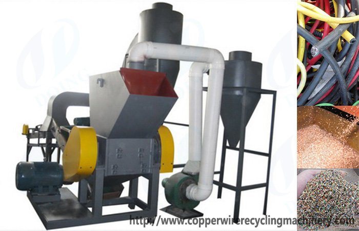 What's advantage of copper recycling plant?