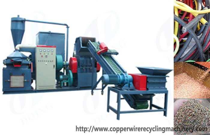 Copper wire recovery machine Cable wire recycling machine Product