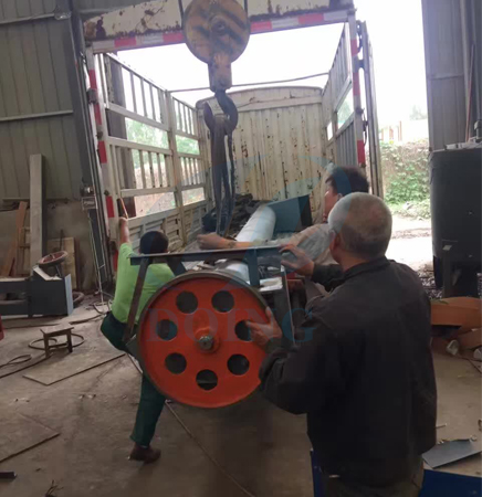 Screw conveyor will delivered to Anhui