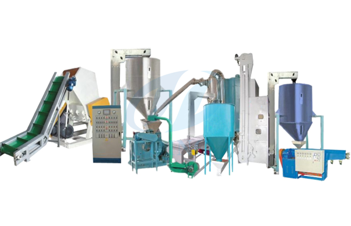 Aluminum plastic composite panel recycling machine