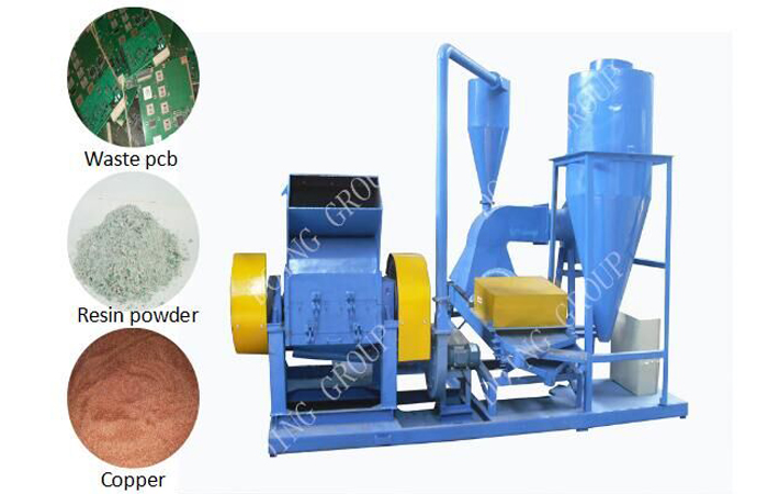 What is PCB recycling process machine ?