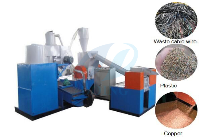 Why copper wire separation machine is popular?