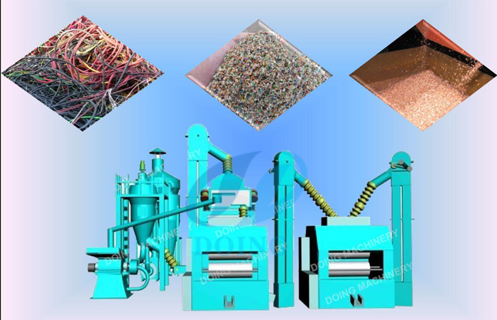 Used copper wire granulator suppliers