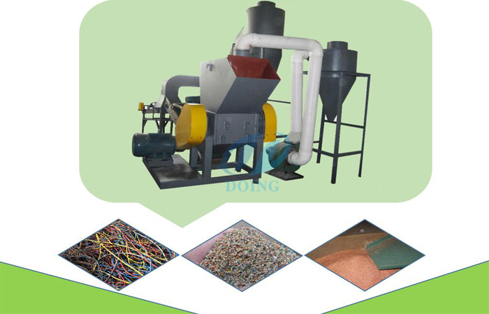 Copper wire granulator separator machine prices?