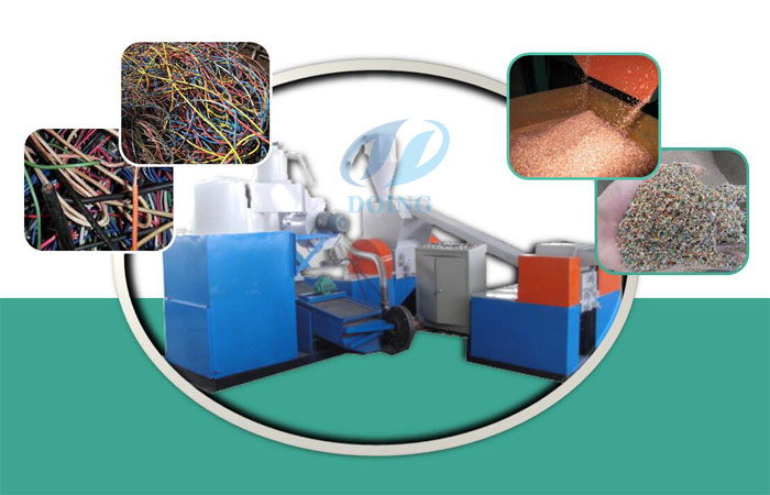 Copper wire recycling tools