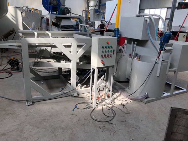 water separator type scrap copper wire recycling machine
