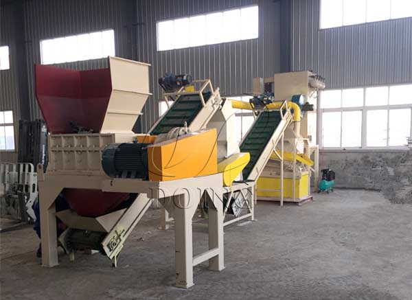 radiator separation recycling machine