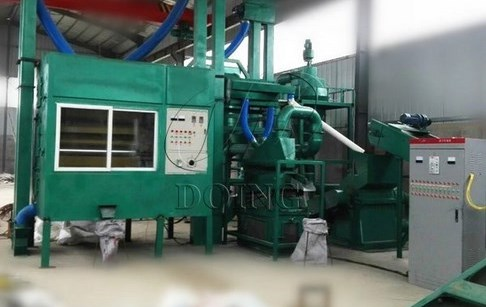 PCB board recycling machine being debugged in Hebei