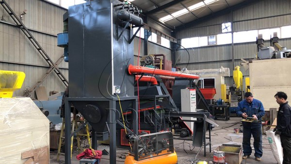 copper radiator recycling machine