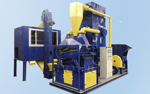 What are the advantages of recycling copper with copper wire recycling machine?