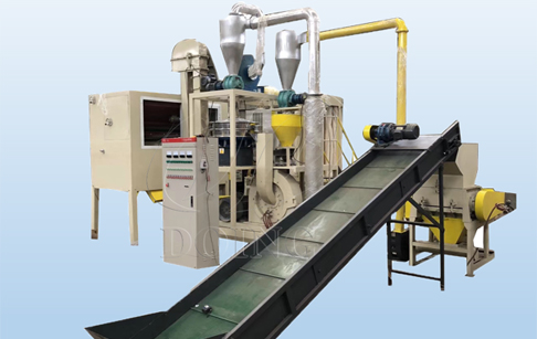 Why so many customers choose to buy aluminum plastic separation machine from China?