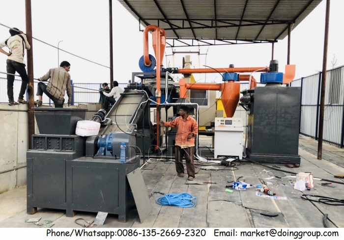 PCB recycling machine in India