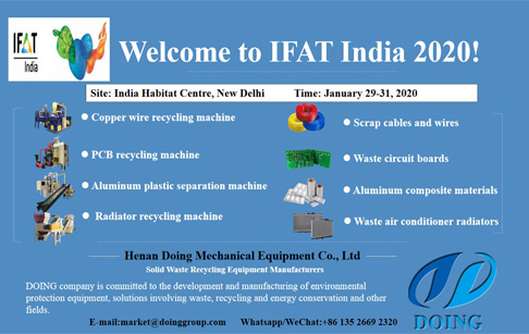 DOING company will wait you at IFAT India 2020