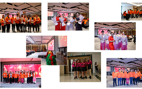 DOING welcomes New Year's party successfully in Zhengzhou Future Hotel