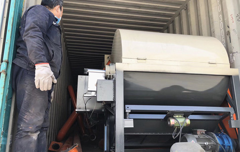 One set PCB dismantling machine delivered to Vietnam