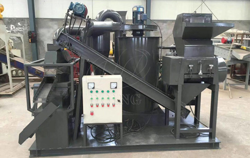 Is the automatic copper wire recycling machine is easy to use?
