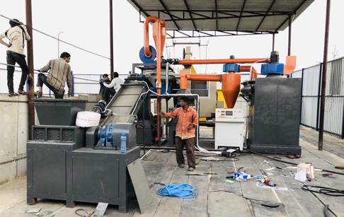 Why circuit board recycling machine made in China is popular in India?