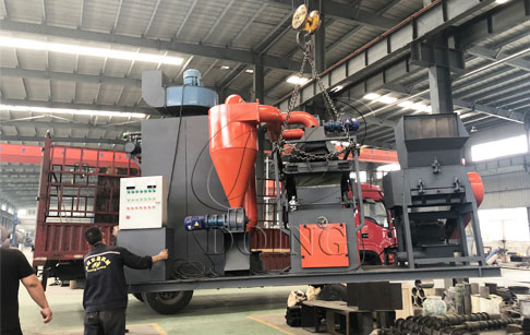 One set copper wire granulator machine was ready to sent to Hebei, China