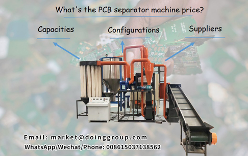 What's the PCB separator machine price?