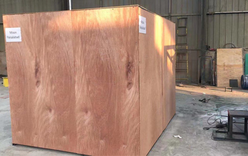 One set 100-200 kg/h copper cable granulator machine was loaded and ready to ship to India