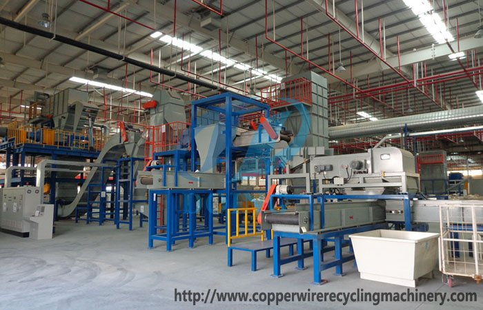 disposal electronic waste and recycling machine