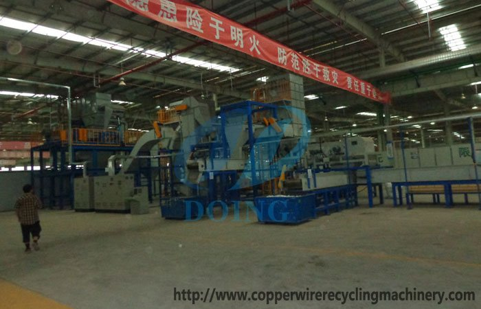 disposal electronic waste recycling machine
