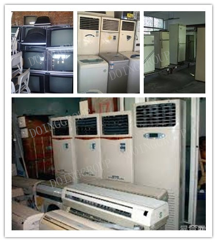 e waste management home appliance plant