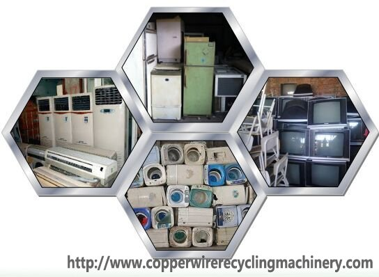 e waste rectcycling plant