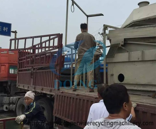 Air-separator delivered to Shantou