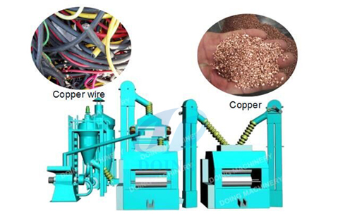 copper wire granulator