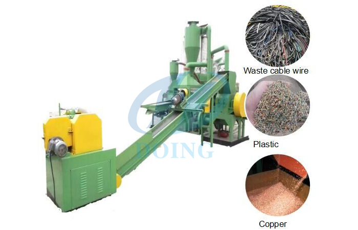 copper recycle plant