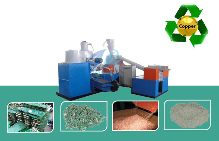 pcb recycling plant