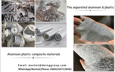 Is it feasible to do the aluminum plastic separating business in India?